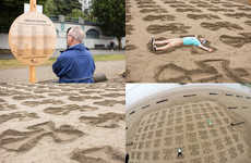 Sand Angel Installations