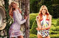 Summery Luxe Fashion - The Glamour Poland Issue Stars a Colorfully Posh Anja Rubik