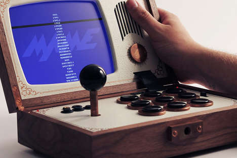 Retro-Modern Gaming Systems - The R-KAID-R Game Console Blurs the Lines Between Past and Present