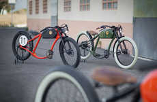 Retro Electric Bicycles - OTO Cycles Electric Bikes are Inspired by Mid-Century Bicycle Design