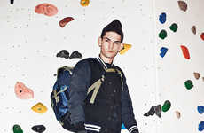 Edgy Rock Climber Apparel - WOOD WOOD's Latest Lookbook Highlights Haute Hiker Styles