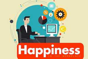 This Joyful Infographic Explains How to Achieve Happiness at Work