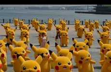 Anime Rodent Campaigns - The 'Pikachu Outbreak' Campaign Saw 50 Pikachus Take Over a Japanese Park