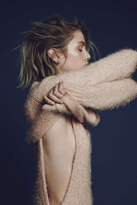 Stylish Fall Knitwear - For Love & Lemons Debut Knit Collection is Casually Sensual