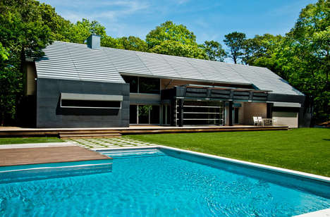 Modernist Summer Residences - This Hamptons Home by Mojo Stumer Associates Embraces Clean Design
