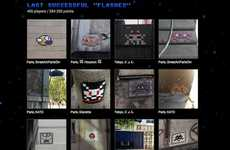 Graffiti-Hunting Games - Invader's Street Art Game Challenges You to Spot His Creations