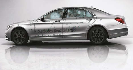 Bulletproof Luxury Cars - The Mercedes-Benz S-Class Guard Can Withstand a Bomb in Style