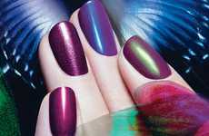 Transformative Nail Polishes - Mac Nail Transformations Can Be Mixed & Matched to Add Texture