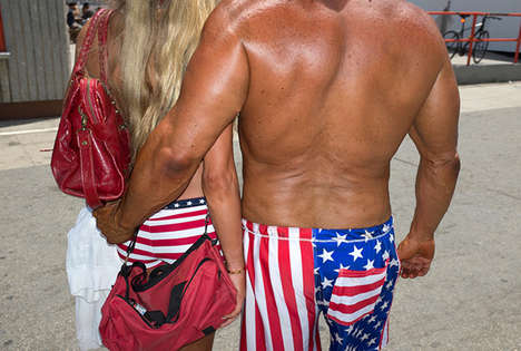 Bizarre Muscle Beach Photography - Michelle Groskopf Captures the Weird and the Wonderful