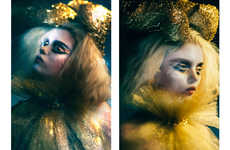Eccentric Fantasy Captures - Glassbook Magazine's Phasma Phasmatis Series is Conceptually Styled