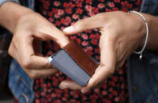 Svelte Leather Wallets - The Trove Wallet Lets You Carry Stuff Without Bulging Your Pocket