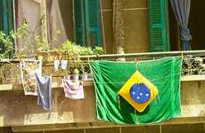 Patriotic Laundry Ads - Bonux Created a World Cup Ad That is Simple and Universal