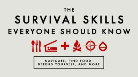 Crucial Survival Skills - Lifehacker Has Compiled Expert Knowledge on Surviving in the Wilderness