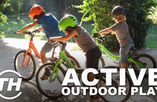 Active Outdoor Play - Editor Meghan Young Discusses Her Picks to Encourage Outdoor Activity in Kids