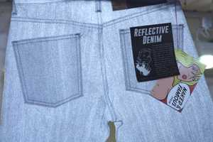 The Naked & Famous Reflective Denim Debut is Raw Genius