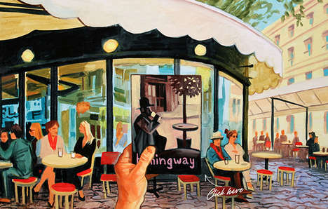 Wanderlust Literary Illustrations - Seth Armstrong's Illustrations Take You Inside the Pages