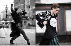 Dramatic Street Style Editorials