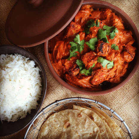 Indian Food Ingredient Deliveries - Saffron Fix Will Deliver Ingredients for Indian Meals to Homes