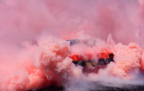Drag Racing Photography - Burnout by Simon Davidson Captures Action-Filled Images of Car Culture