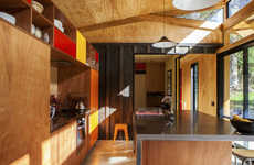 Efficient Barnyard Abodes - This Mid-Century Home Maximizes Personal Space