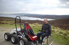 Off-Road Wheelchairs - The HexHog Offers Wheelchair Users Unprecedented Access Outdoors