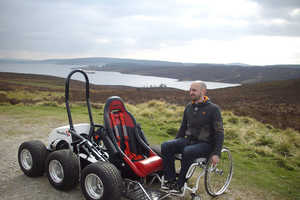 The HexHog Offers Wheelchair Users Unprecedented Access Outdoors