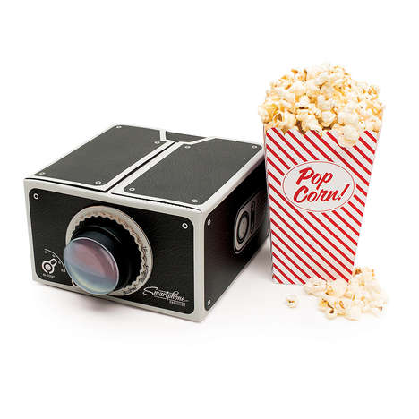 Retro Smartphone Projectors - This Vintage Projector is Perfect for Watching Movies at Home