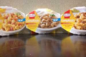 'Hormel Compleats Good Mornings' is a Line of Microwave Breakfasts