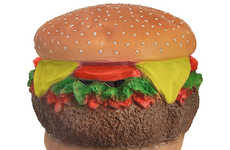 Epic Fast Food Masks - This Cheeseburger Mask Will Instantly Transform You into a Fast Food Delight