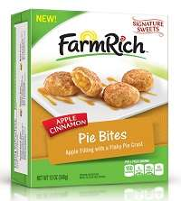 Family-Friendly Microwaveable Treats - These Farm Rich Snacks Include Both Savory & Sweet Offerings