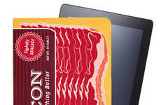The Bacon iPad 2 Case is Perfect for Foodies who Love this Salty Snack