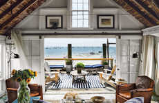 Cozy Oceanside Homes - The Provincetown Beach Cabin Brings Comforting Decor to the Seaside