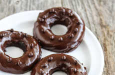 1-Minute Microwave Donuts - Kirbie Cravings Creates an Easy Chocolate Dessert