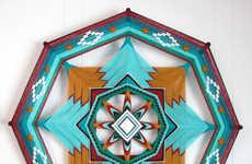 Jay Mohler's Mandala Art is Designed to Ward Off Unwanted Spirits