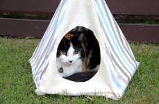 This Crafty Teepee Project is a Fun Way to Spoil Your Cat