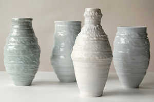 Jonathan Keep's 3D-Printed Ceramic Art Blend Nature, Crafts and Technology