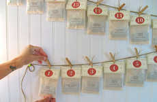Tea Advent Calendars - Karen Gardiner of ArtfulTea Creates a Healthy Alternative to Chocolates