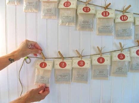 Tea Advent Calendars - Karen Gardiner of ArtfulTea Creates a Healthy Alternative to Chocolates