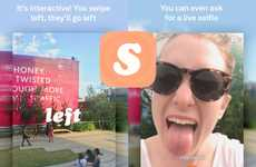 Directive Video Apps - Sup is an App That Gamifies the Experience of Sharing Videos with Friends