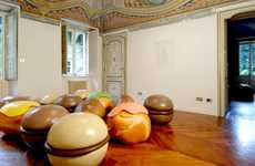 Pastry Pouf Chairs - Diego Gugliermetto Designed Fun Seating To Look Just Like Decadent Desserts