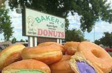 Ice Cream Donuts - California-Based Baker's Donuts Offers a Great Summer Treat