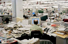 Chaotic Newsroom Photography - Will Steacy's Captures Scenes At a Struggling Newspaper