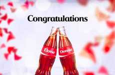 Pop Bottle Proposals - Donnie McGilvray Asked His Wife to Marry Him Using Coca-Cola Bottles