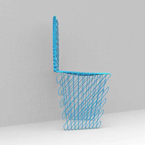 Latticed Chair Designs - Acid Studio Creates the Cetka Chair