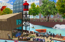 Wave-Infused Canals - The RiF010 in Rotterdam will Become Home to Surfers and Water-Lovers