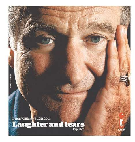 Late Actor Headlines - Robin Williams News Culminates in a Series of Last Front Pages