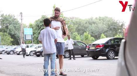 Underage Smoking Experiments - YTV Network's Social Experiment Video Makes Smokers Question Health