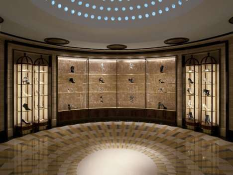 Heavenly Shoe Shops - Harrods' New Shoe Department Has Been Dubbed 'Shoe Heaven'