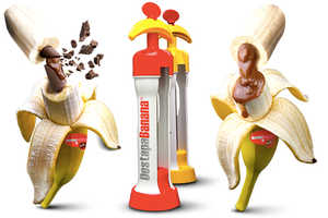 The DestapaBanana Fills Banana Fruits Up with Delicious Syrup Flavors