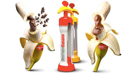 Banana-Injecting Gadgets - The DestapaBanana Fills Banana Fruits Up with Delicious Syrup Flavors